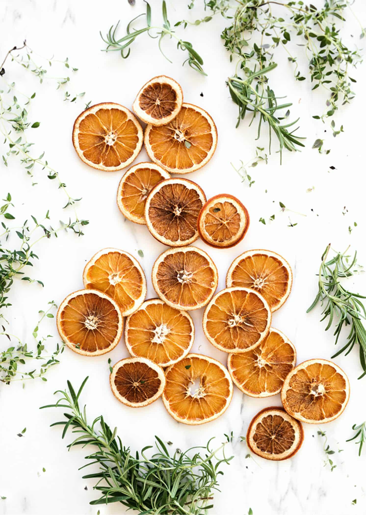 Agrumes et plantes médicinales pour l'aromatisation du Kéfir de fruits