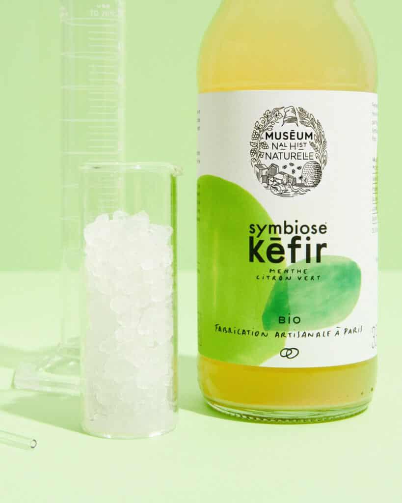Kéfir de fruits, bio, naturellement riche en probiotiques Kefir de fruits museum